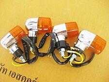 SUZUKI GS650 GS700 GS750 GS850 GS1000 GS1100 GS1150 SIGNAL 12V. 4Pcs. AMBER