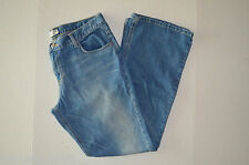 Womens American Eagle Outfitters Blue Casual Button Zip Closure Jean Pants Sz 14