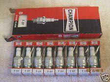 8 Champion Spark Plugs F9Y F-9Y 1966-70 Ford Lincoln Mercury 8 Pack NOS