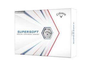 NEW Callaway 2021 Supersoft Golf Balls - White - Drummond Golf