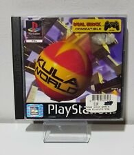 PS1 / Sony Playstation 1 Spiel - Kula World mit OVP+Anleitung RARITÄT A5284