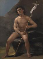 Francisco De Goya ÊYouth St. John the Baptist in the Desert Giclee Canvas Print