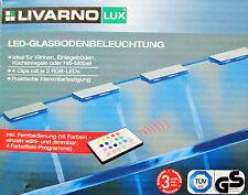 LED 4 x fond en verre éclairage SOUS-MEUBLE Spot encastré Eclairage à assembler