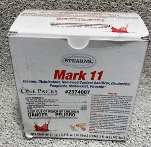 10 Pack, 1 Packet = 32oz Mark 11 Hospital Grade Disinfectant Virucide Sanitizer