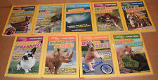 Lot of 9 National Geographic Chapters Books