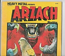 Heavy Metal Presents Arzach by Moebius 1977 SC 1st Edition 64 pp FN+ 0930368886