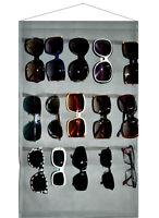 Eyeglass Sunglasses Storage Display Wall Stand Organizer holder for Glasses Gray