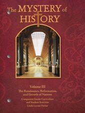 The Mystery of History Volume 3 Companion Guide - Curriculum Student Activities