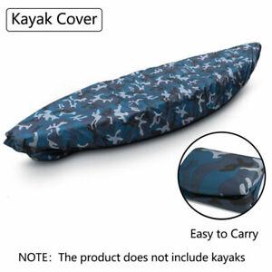 Professional Kayak Cover Waterproof Boat UV Resistant Dustproof Storage Covers
