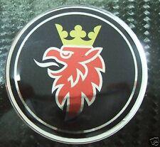 """#2 3d 2.5"""" Saab BLACK badge emblem decal 9-3 9-5 95 93"""
