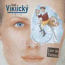 Emil Viklicky Trio - LIVE IN VIENNA - piano trio, modern jazz
