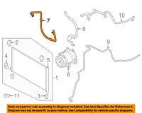 NISSAN OEM 15-16 Rogue A/C AC Condenser/Compressor/Line-Pressure Hose 924904CL5A