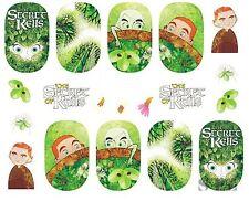 Nail Art Sticker Water Decals Transfer Stickers The Secret Of Kells (DB331)