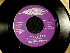 RARE NORTHERN SOUL MOD POPCORN~LITTLE EDDIE BRANDON Little Red DORE DJ 45 Hear