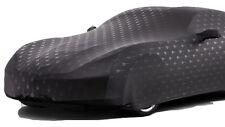 2014+ C7 Corvette Indoor Car Cover Black w Stingray Logo Pattern + Storage Bag