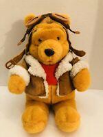 "Disney Store Winnie The Pooh Plush Poohs High Flyers Huggable Stuffed Toy 14"""