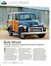 1948 GMC HIGHLANDER ~  GREAT 3-PAGE ARTICLE / AD