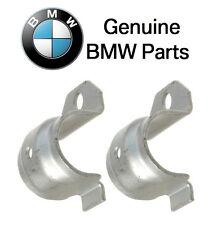 BMW E24 325i Set of 2 Genuine Support Bracket for Sway Bar Bushing 33506779734