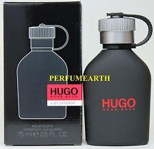 Hugo Just Different By Hugo Boss 2.5/2.6oz. Edt Spray For Men New In Box