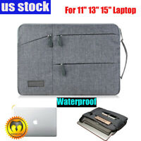 "Slim Waterproof Laptop Sleeve Case Carry Cover Bag for 11/13/15"" MacBook Pro Air"