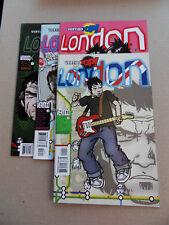 Vertigo Pop ! London 1 - 4 . Lot Complet . DC / Vertigo 2003 . VF / NM