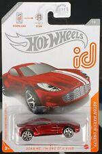 Hot Wheels Id Aston Martin One-77 Chase New Ships Fast