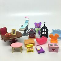 """Lot of Barbie/Doll Furniture- All Sizes 1 1/2"""" to 6"""" Tall See Pictures"""
