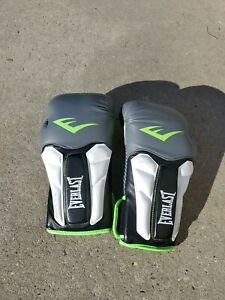 Everlast PRIME 16oz. Grey/Neon Green Boxing Training Gloves