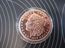 """1X Zombuck """"Morgue Anne"""" Copper Round Bullion Coin free airtite"""