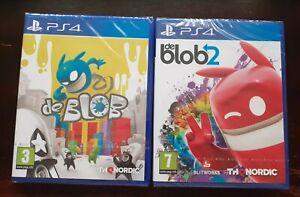 De Blob & De Blob 2 - Playstation 4 PS4 Games - New & Sealed