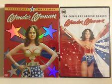 Wonder Woman Season 1 & 2 (DVD)(NEW) Lynda Carter, Lyle Waggoner