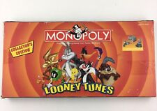 Looney Tunes Monopoly Collectors Edition 2003 Board Game Collectible