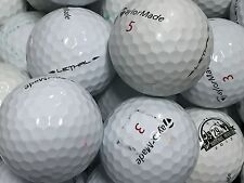 24 TaylorMade LETHAL AAA GOLF BALLS FREE TEES (3A)