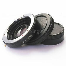 Contax Yashica CY Lens to Nikon F Adapter Infinity focus Glass D610 D750 D80 D90