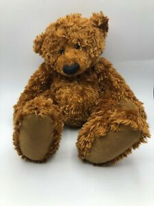 Official Russ Berrie Alice Bear Shop Icky Brown Teddy Plush Stuffed Toy Animal