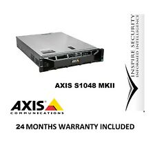 Axis Camera Station S1048 MkIi Recorder 24Tb Nvr 48 Channels Upgrade 64ch 4k