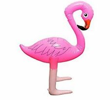 INFLATABLE 68CM TALL PINK FLAMINGO BIRD FANCY DRESS PARTY DECORATION PROP