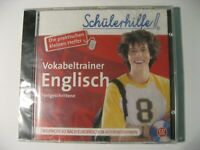 Schülerhilfe, Vokabeltrainer Englisch, Fortgeschrittene, CD ROM, NEU