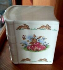 Royal Doulton Pottery Bunnykins moneybox Excellent Condition FREE P&P