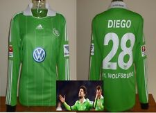 VFL Wolfsburg Away Football Shirt Diego ADIDAS UFFICIALE GERMANIA BUNDESLIGA L