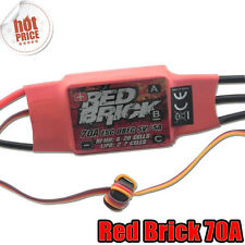 Red Brick 2-7S 70A Brushless ESC & 5V 5A UBEC for Helicopter plane Quadcopter S