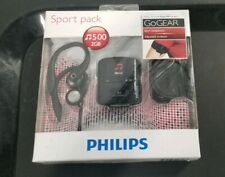 Philips GoGear Raga MP3 Player Sport Pack 2 GB SA4RG02KFS Black