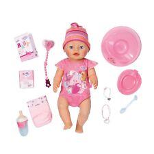 Zapf Creation 822005 Baby Born Interactive Puppe 43 cm Funktionspuppe + Zubehör