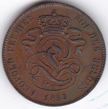 1859 Belgio 2 CENTESIMI *** DA COLLEZIONE *** RAME *** UNC ***