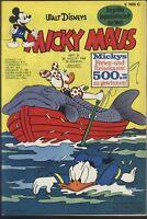 Micky Maus Nr.34 vom 24.8.1968 mit Gutscheinecke, Fußballalbum - Z1-2 Comicheft