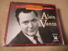 """COFFRET 3 CD NEUF """"LES PLUS GRANDES VOIX DU MONDE : ALAIN VANZO"""" Reader's Digest"""