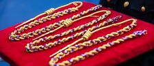 RARE...Fourragère d'or pour acte de courage et de dévouement de la BSPP de PARIS
