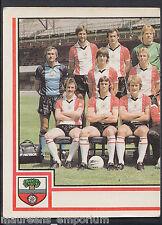 PANINI CALCIO VIGNETTA 1981-N. 260-Southampton TEAM Group