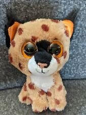 "New Ty Beanie Boos ""Buckwheat"" Lynx Leopard Plush 9�"