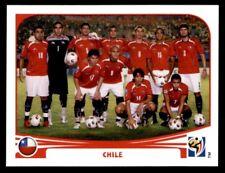 Panini World Cup 2010 - Team Photo Chile No. 619